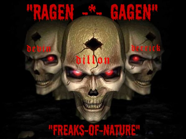 RAGEN GAGEN THREE SKULLS OF THREE BROTHERS