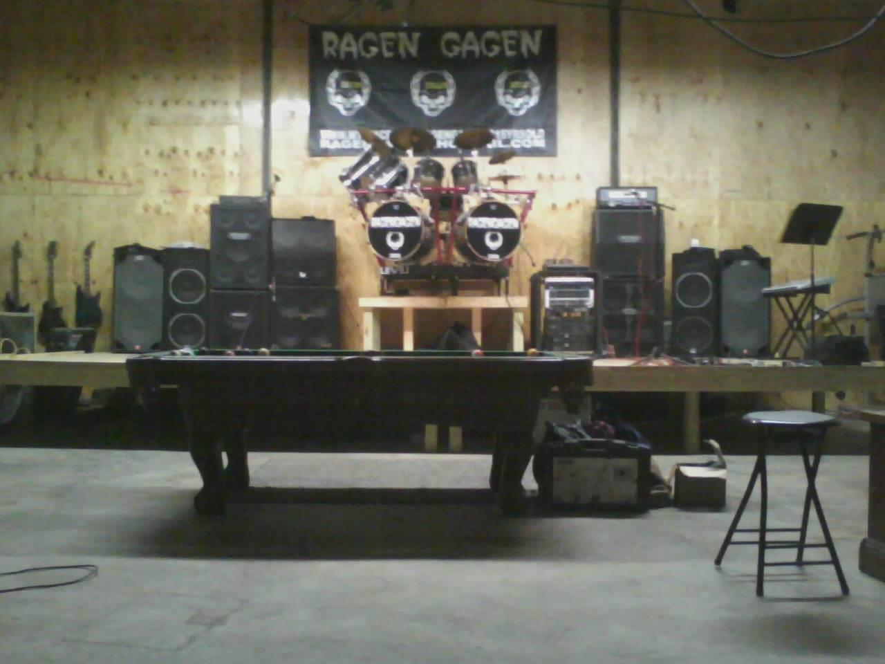 home of ragen gagen , our venue / studio